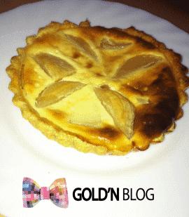 tartelette aux poires recette dessert