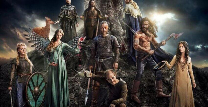 vikings série historique