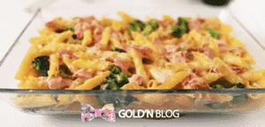 Gratin de pates au jambon et au brocoli, la recette