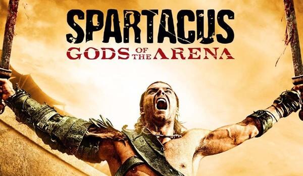Spartacus les dieux de l'arène