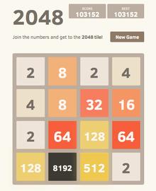 2048 meilleurs jeux android addictif