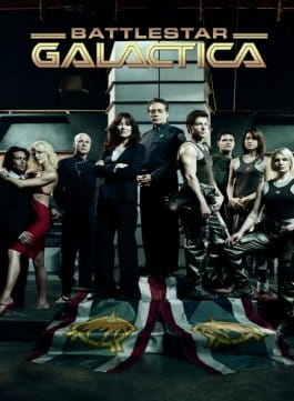 Battlestar Galactica, la série de science fiction culte