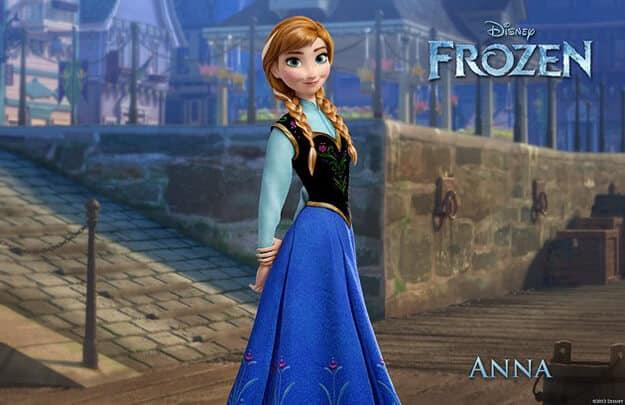 frozen anna la reine des neiges