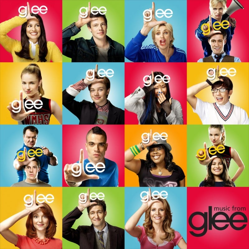 glee personnages