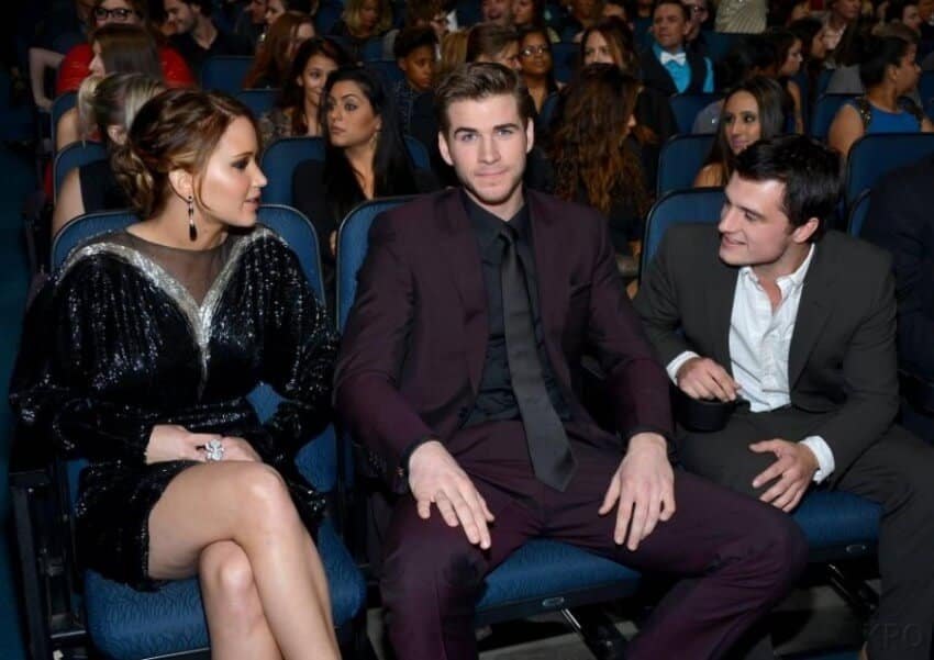 jennifer-lawrence- Josh-Hutcherson-Liam-Hemsworth