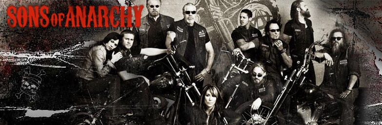 Sons of Anarchy serie gang motard