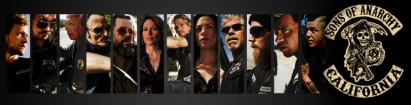 Sons of Anarchy serie gang de motard