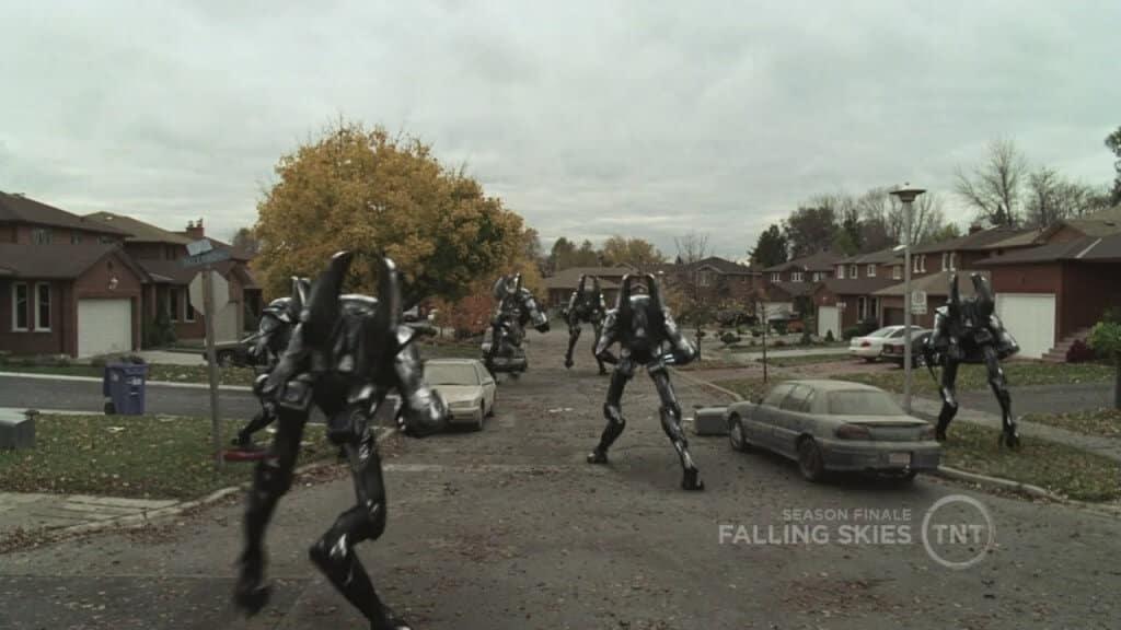 falling skies robot série