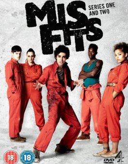 Misfits, la série britannique