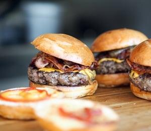 Hamburger frites maison, la recette facile