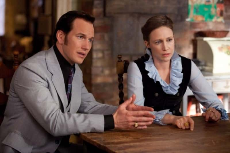 the conjuring vera farmiga patrick wilson ed warren et Lauren