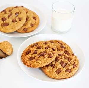 Cookies aux pépites de chocolat et nougatines, la recette