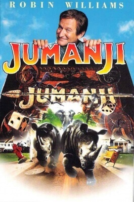 Jumanji, le film d'aventure de Joe Johnston