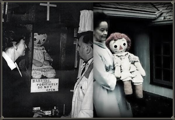 véritable annabelle vrai poupée warren