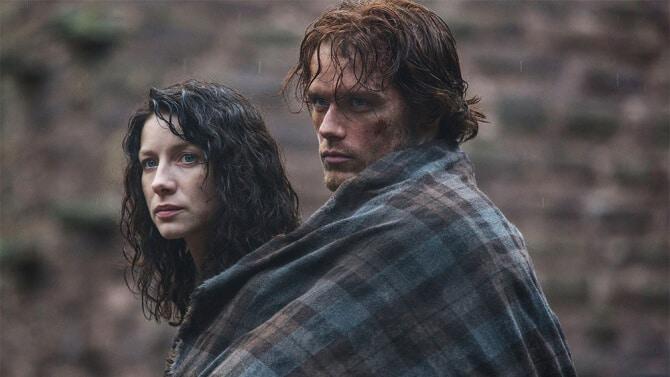 outlander serie Caitriona Balfe, Sam Heughan