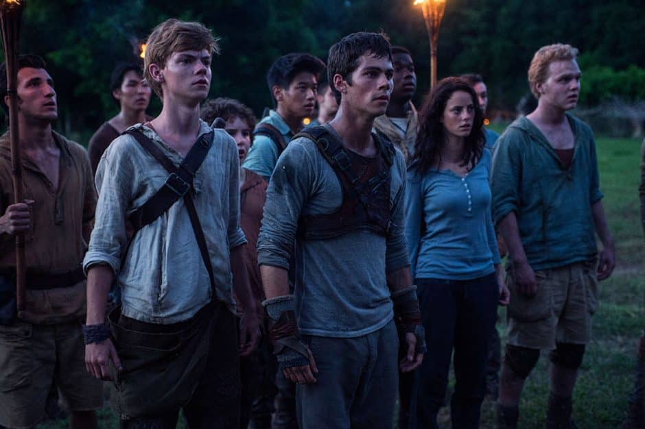 le labyrinthe the maze runner film