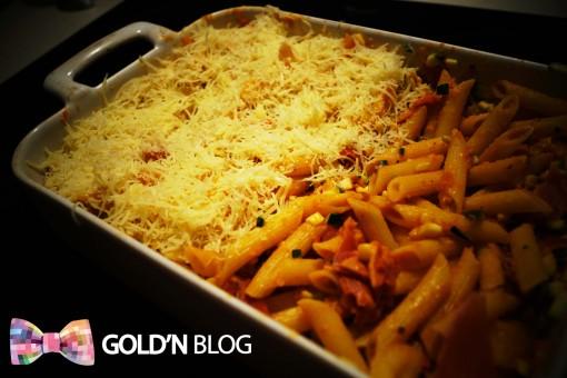 gratin pâtes