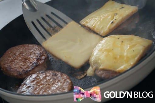 steak haché burger fromage recette
