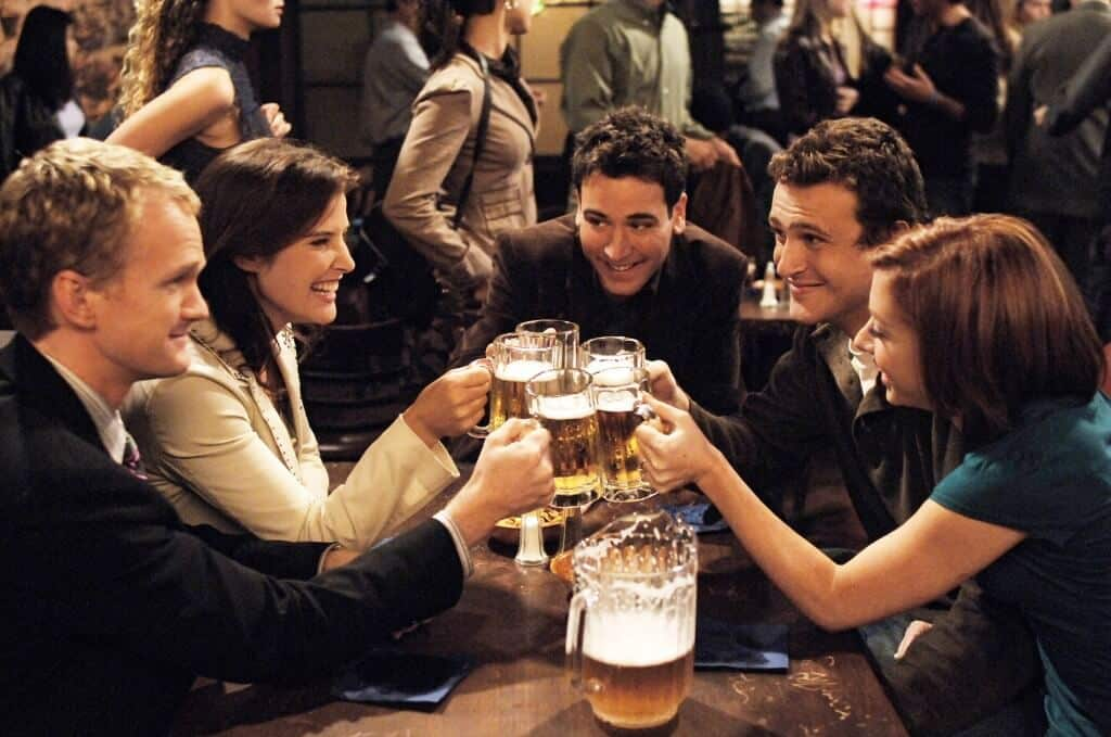 Barney, Robin, Ted, Marshall et Lily, how i met your mother