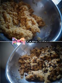 cookies pépites de chocolat et de nougatines