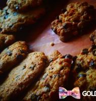 Cookies aux pépites de chocolat et nougatines