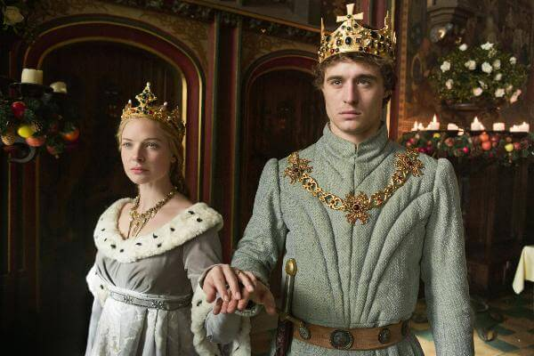 elizabeth woodville et edward IV the white queen série