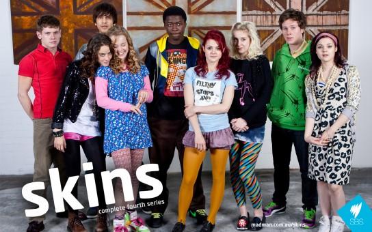 skins série britannique Effy et sa bande