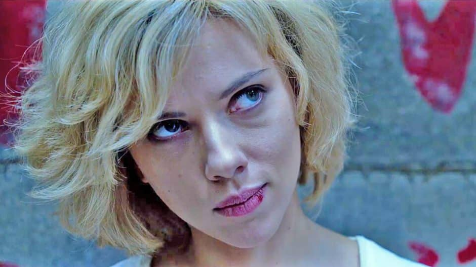 Scarlett Johansson dans Lucy