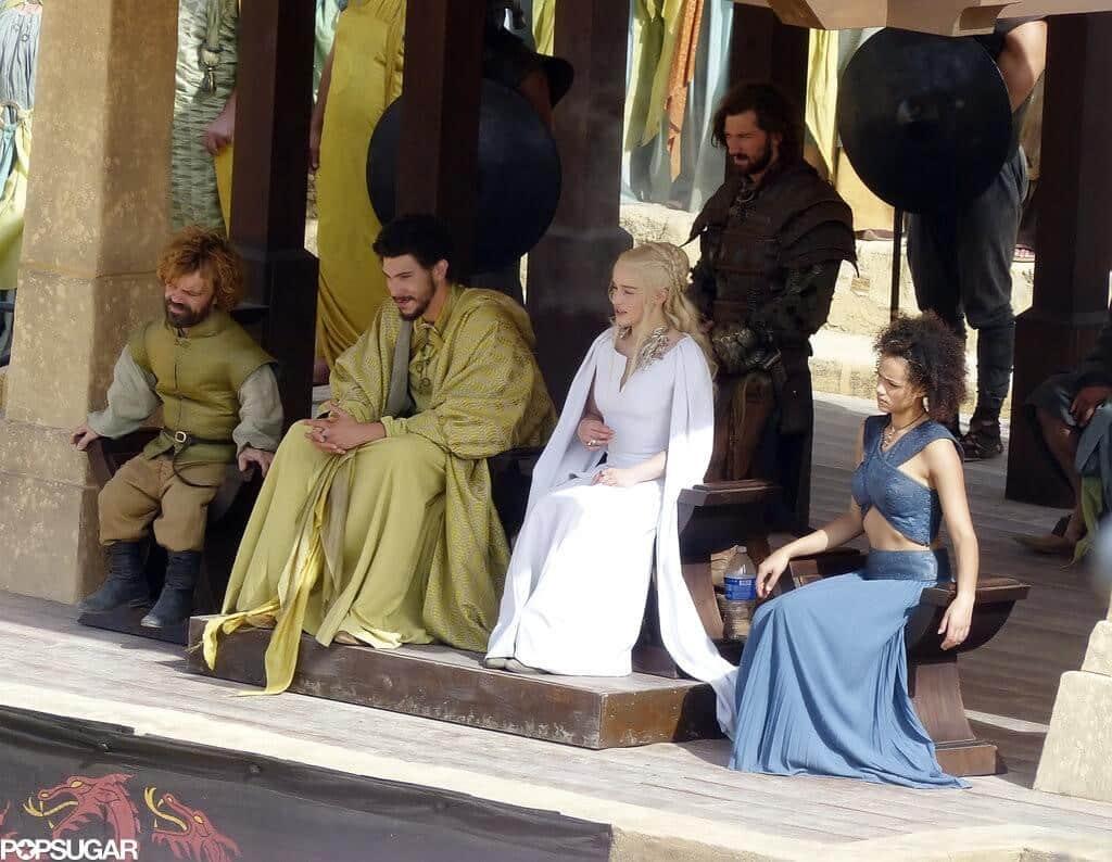game of thrones saison 05 khaleesi et tyrian lannister