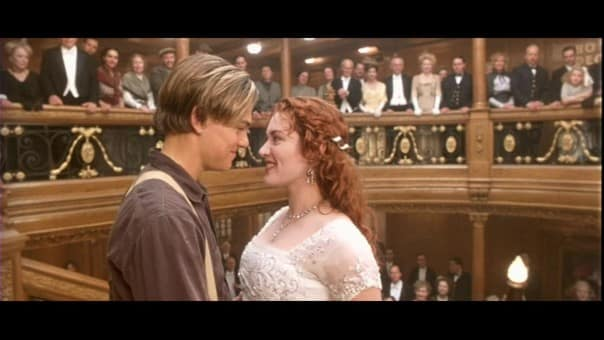 Rose retrouve Jack pour le baiser final