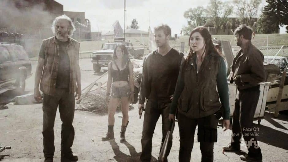 Z Nation serie zombies