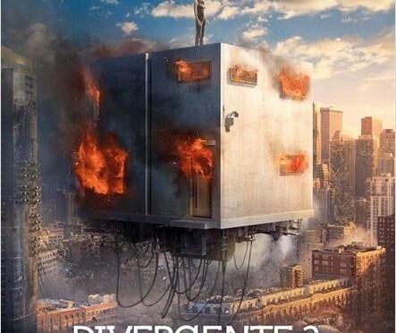 Divergente 2 : L'insurrection : l'affiche du film