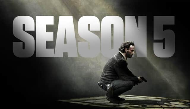 the walking dead season 5 saison  rick
