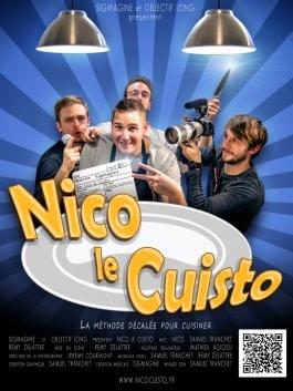 Nico le Cuisto la série web cuisine culinaire