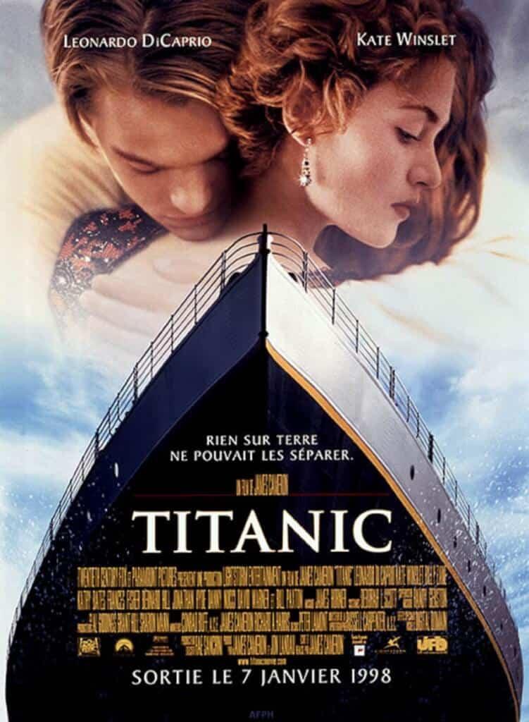 Titanic, l'amour dans le drame et la catastrophe