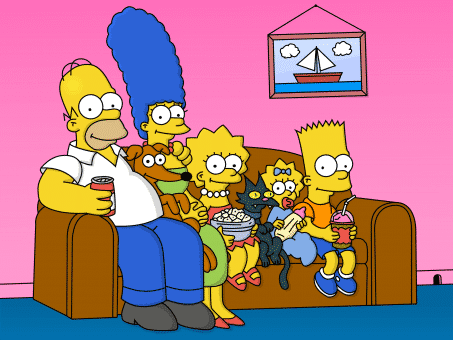the-simpson les simpson homer marge bart lisa