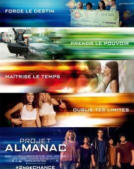 Affiche Projet Almanac