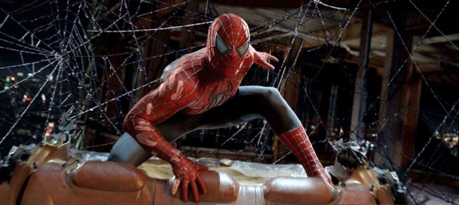 Spider Man, joué par Tobey Maguire