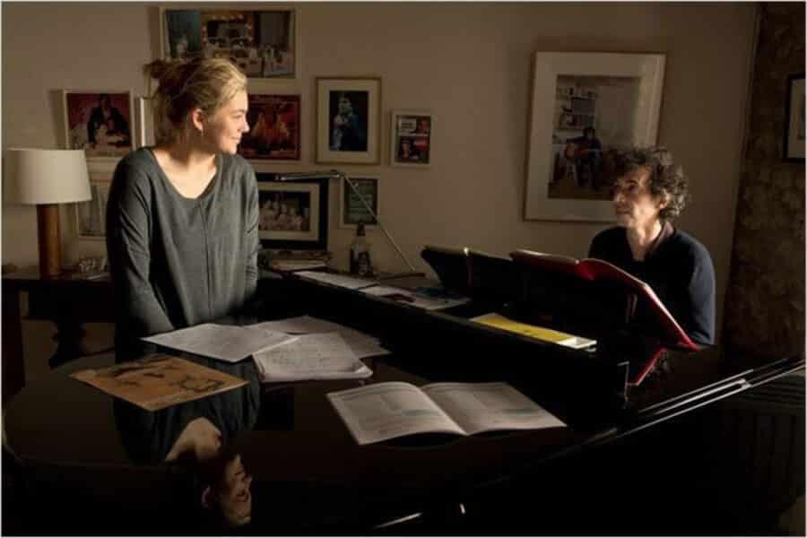 Paula et son prof de chant