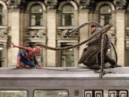 Combat entre Spider Man et Dc Octopus