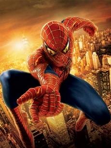 spider man affiche trilogie