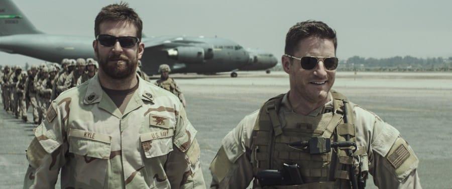 Bradley Cooper et un coéquipier