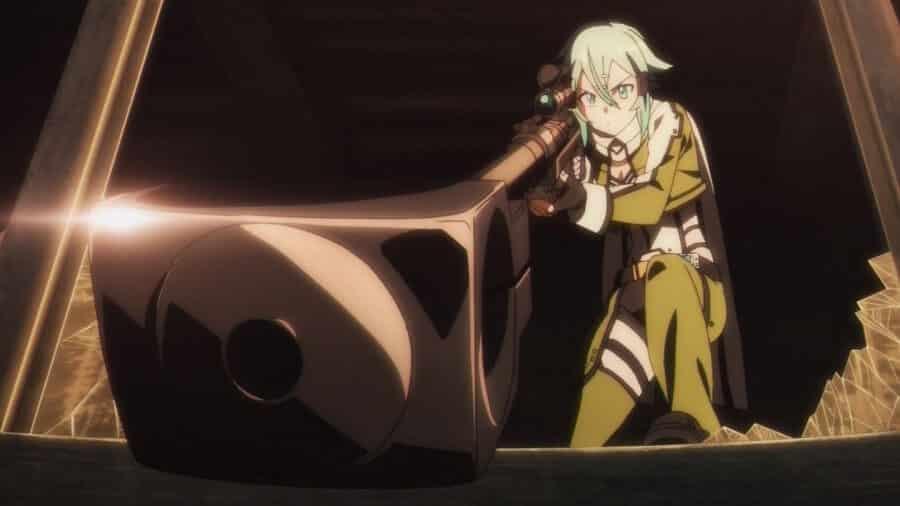 sword art online 2 sinon