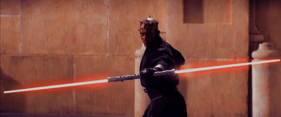Dark Maul, méchant du film Star Wars