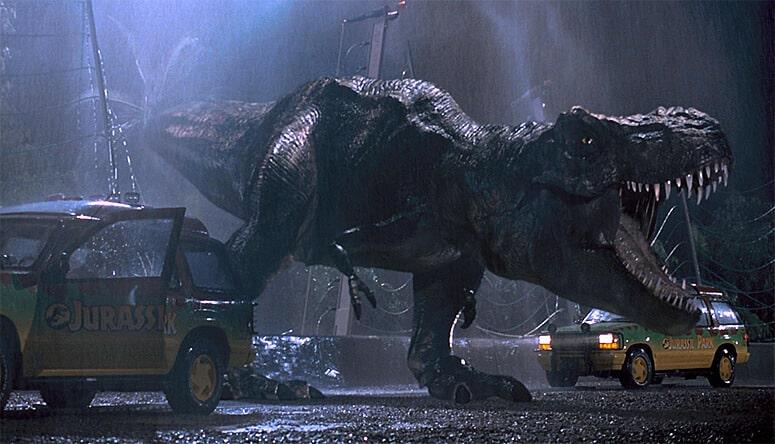Le T-Rex dans Jurassic Park