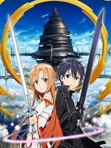 sword art online poster affiche