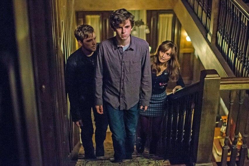 Bates Motel série Norman bates Emma Dylan
