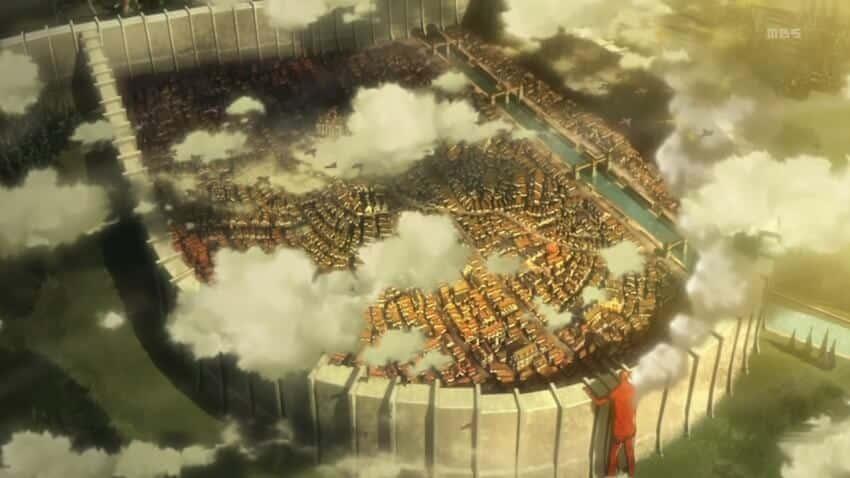 murs Shingeki no Kyojin l'attaque des titans