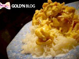 Poulet au curry, la recette classique facile à réaliser
