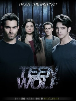 teen wolf affiche poster